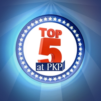 Top 5 at PKP