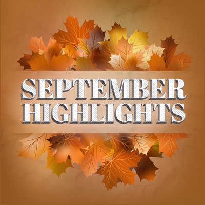 September-Highlights